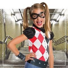 Costumi Harley Quinn Bambina