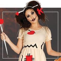 Costumi Bambola di Pezza Donna
