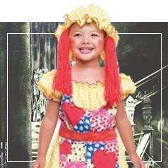 Costumi Bambola di Pezza Bambina