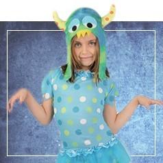 Costumi Mostro Bambina