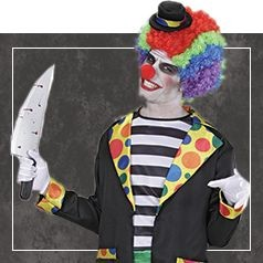 Costumi Clown Horror Uomo