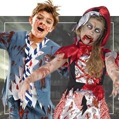 Vestiti da Zombie per Bambini
