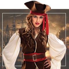 Costumi Pirata Donna