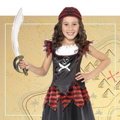 Costumi Pirata Bambina