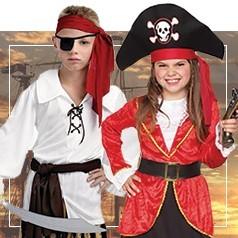 Costumi da Pirata per Bambini