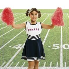 Vestiti Cheerleader Bambina