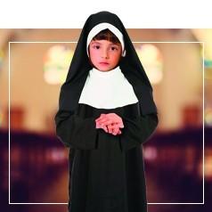 Costumi da Suora per Bambina