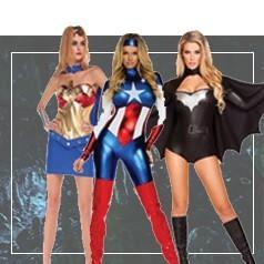 Vestiti da Supereroine per Donna