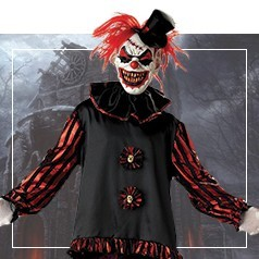 Costumi da Clown Horror Adulto