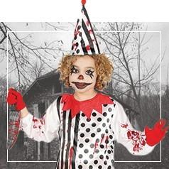 Costumi da Clown Horror Bambini