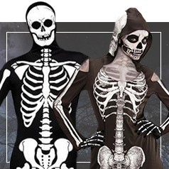 Costumi da Teschio per Adulto