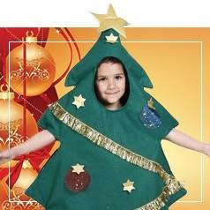 Costumi Albero di Natale per Bambini