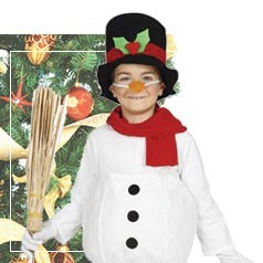 Vestiti Pupazzo di Neve Bambini