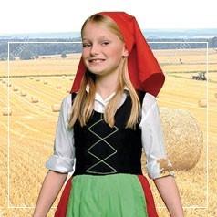 Costumi da Pastorella per Bambina