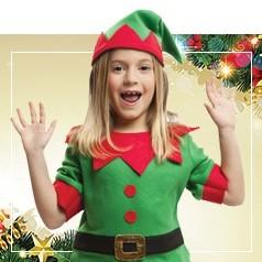 Costumi Elfo Bambina