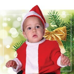 Vestiti Babbo Natale Neonato