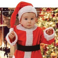 Costumi di Babbo Natale per Bambini