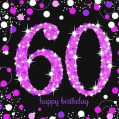 Compleanno 60 Anni Donna