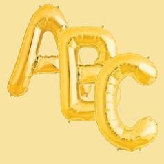 Palloncini Lettere Oro