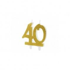 Candele 40 Anni