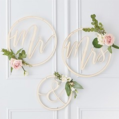 Lettere Decorative Matrimonio