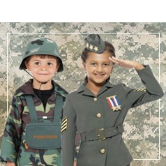 Costumi Militari per Bambini