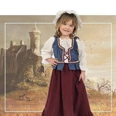 Costumi Medievale Bambina