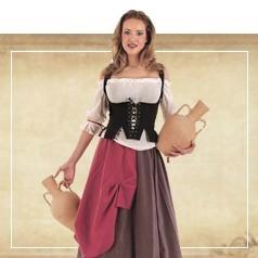 Costumi Medievale Donna