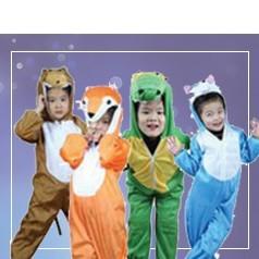 Pigiami Interi Animali Bambini