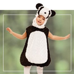 Costumi Panda per Bambini