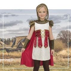 Costumi Guerriera Bambina