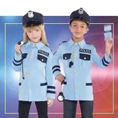 Vestiti da Poliziotto per Bambini