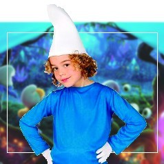 Costumi Puffo Bambini