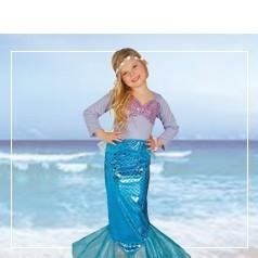 Costumi da Sirena Bambina