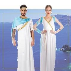 Costumi Antica Grecia Adulti
