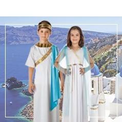 Costumi Antica Grecia Bambini