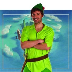 Costumi Peter Pan per Adulti