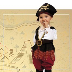 Costumi da Pirata per Neonato