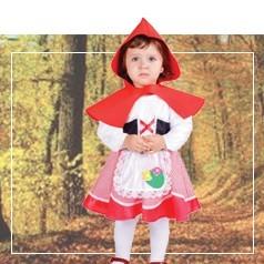 Costumi Cappuccetto Rosso per Neonata
